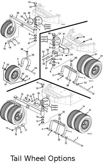 Model 725dt6 2016 Grasshopper Mower Parts Diagrams