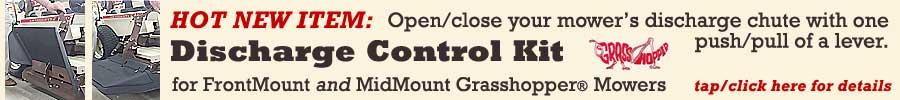 Grasshopper Discharge Controller