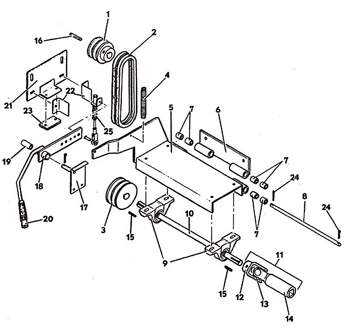 1210 1985 power shaft clutch likewise Electric Starter besides Hydrostatic Drive as well Drive moreover Fuel System. on kohler engine parts diagram