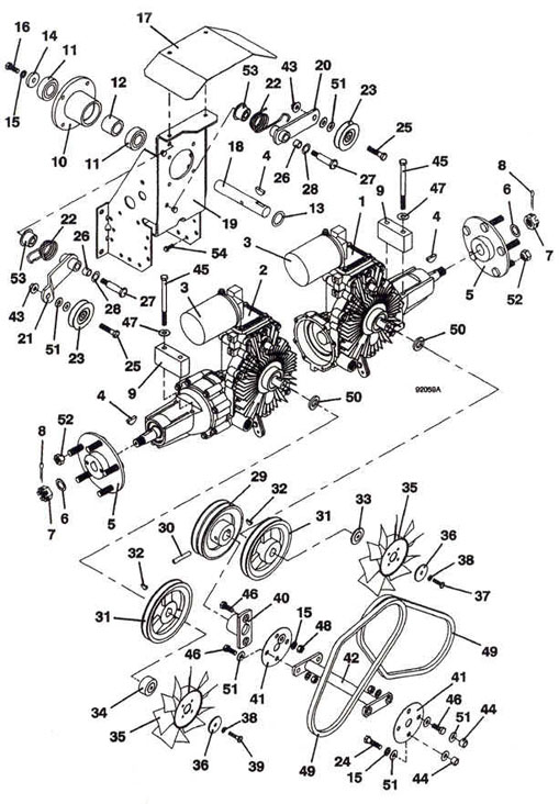 Wiring Diagram For John Deere F687 Electrical Circuit Electrical
