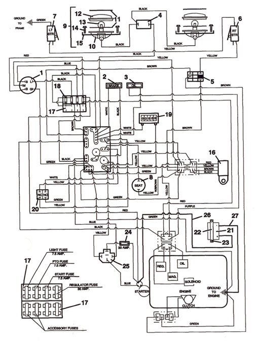 agco lawn mower wiring diagram trimmer wiring diagram