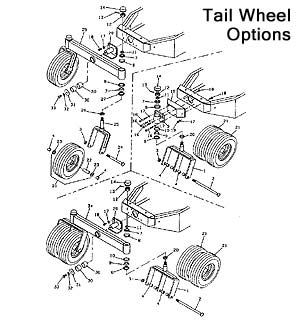 Tail Wheel Options