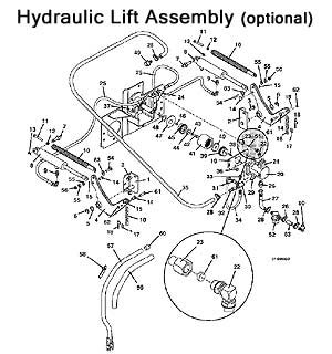 Optional Hydraulic Lift Assembly