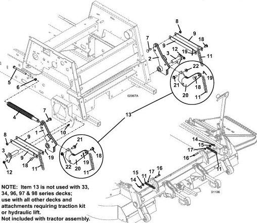725k2 2003 grasshopper mower diagrams  u0026 parts
