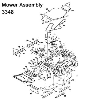 3348 Mower Assembly