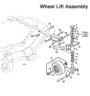 Wood Deck  ponents Diagram additionally 954204 Cutterdeck Zt 100 42 Collection as well 3452 3461 2009 as well John Deere 265 Wiring Schematic together with 172085386528. on john deere replacement mower decks