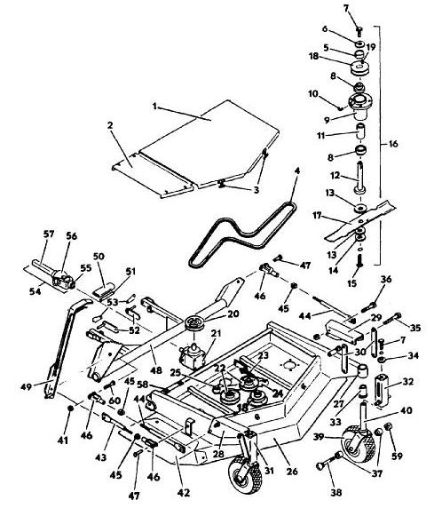 kubota rc60 mower deck parts diagram kubota get free image about wiring diagram