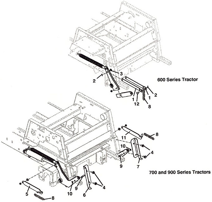 Grasshopper Parts Diagram 9852 Traction Kit Adapter 2001