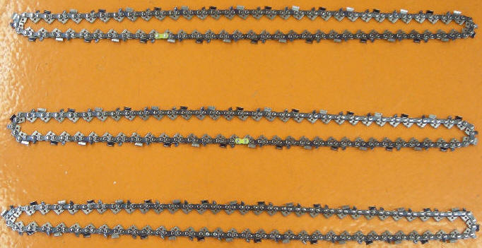 Replacement Chains for Chain Saws