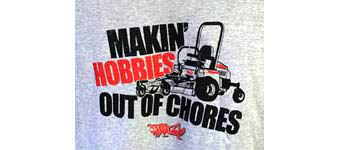 Mower Shop Free T-Shirt Offer