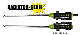 Radiator Genie Cleanout Wands