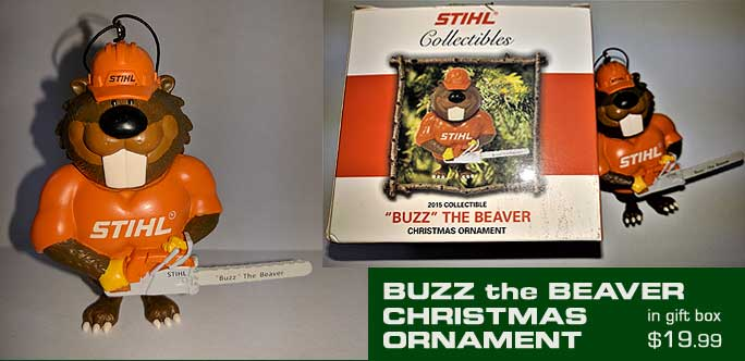 Buzz the Beaver Ornament