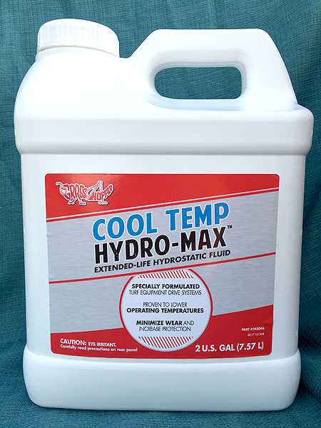 2 gallons Hydro-Max Transmission Fluid for Grasshopper Mowers