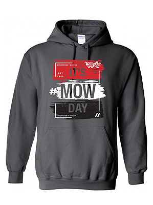 Red Longsleeve Grasshopper Mow Day T-Shirt Hoodie