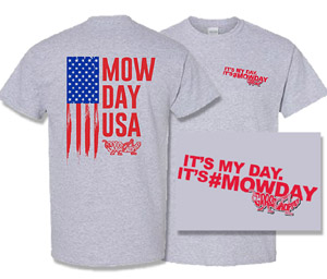 Grasshopper t-shirt- Mow Day USA