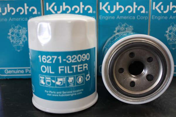 Kubota Engine Parts - air, oil, fuel filters, spark plugs, muffler
