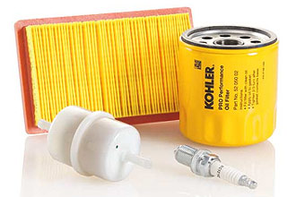 Kohler Filters and spark plugs