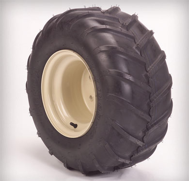 Bar Tread Tire and Wheel for Grasshopper 500 Series FrontMount Mowers