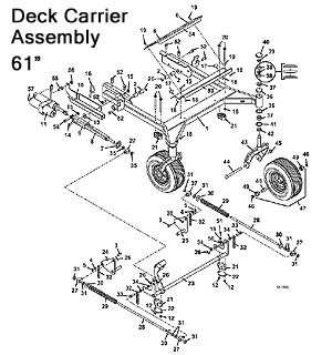 model 430d 2010 grasshopper mower parts diagrams