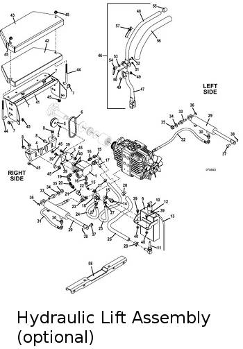 Dt Hydraulic Lift on Kubota Tractor Parts Diagrams