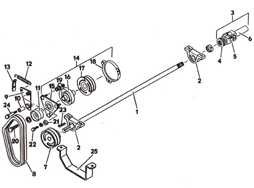 Lawn Mower Clutch Diagram