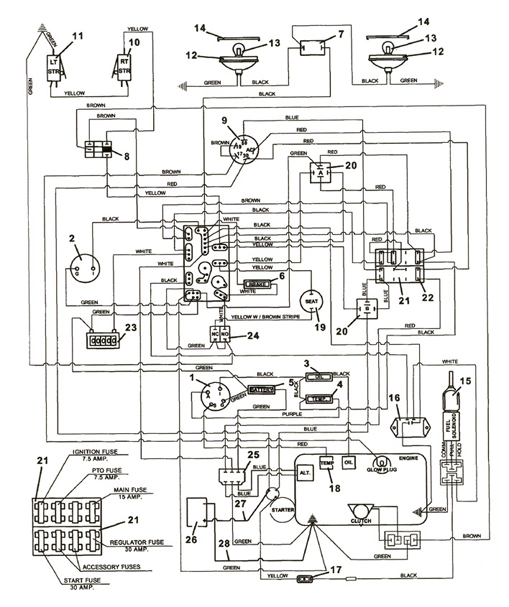 Electrical Diagram For Grasshopper 721d