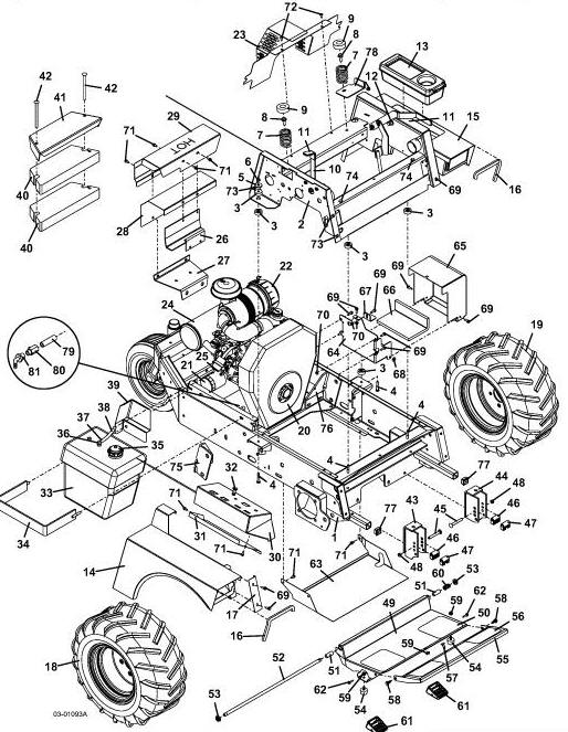 725k2 2004 grasshopper mower diagrams  u0026 parts