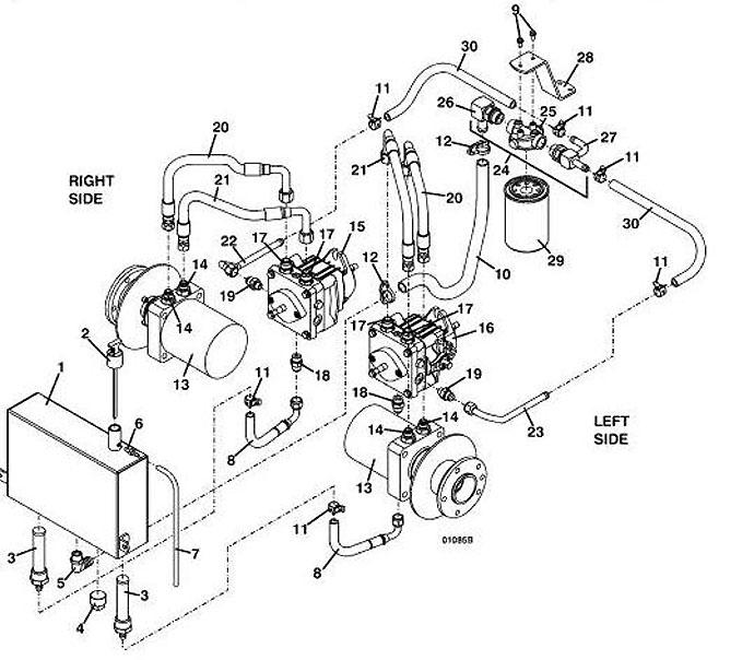 725k2 2004 grasshopper mower diagrams  u0026 parts