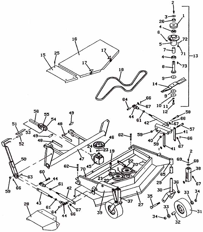 729g2 Wiring Assembly 2005 Grasshopper Mower Parts Diagrams The