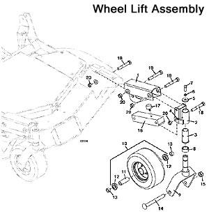 john deere 42 mower deck moreover mtd lawn mower wiring diagram as rh autonomia co