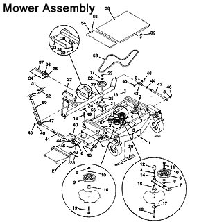 The Mower Shop, Inc. - Grasshopper Lawn Mower Parts Diagrams